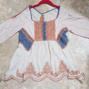 Women's Bke Gimmick blouse